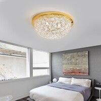 Современные светодиодные светильники потолочные Обеденная crystal Led освещение Светодиодная лента спальня кухня потолочный светильник свети