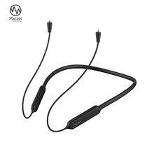 Bluetooth 5.0 aptx/aptx ll cabo mmcx a2dc 2pin 0.78 ie80 ie40 im impermeável sem fio bluetooth fone de ouvido cabo para shure se215
