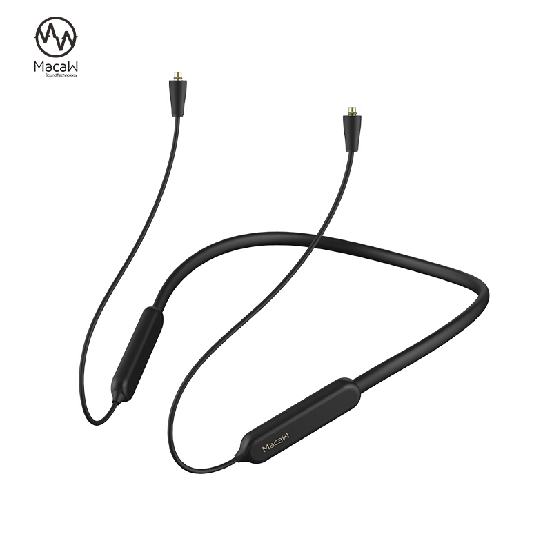 Bluetooth 5.0 Aptx/ aptx ll <font><b>Cable</b></font> mmcx A2DC <font><b>2PIN</b></font> <font><b>0.78</b></font> IE80 IE40 IM Waterproof Wireless Bluetooth Headset <font><b>Cable</b></font> For SHURE SE215 image