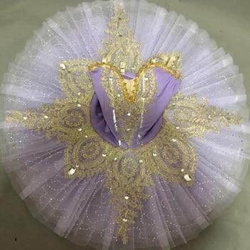 Professionl Ballet Tutu Swan Lake Ballet dress Ballerina Dress Kids Child Ballroom Pettiskirt dancing Dress Stage show Outfits