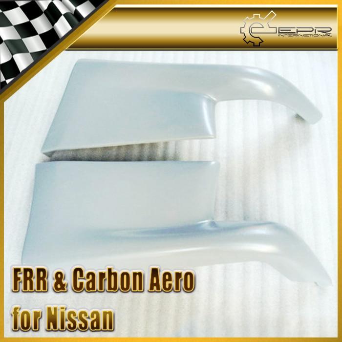 EPR Car Styling For Nissan Skyline R32 GTR FRP Fiber Glass TS Style Rear Spat Aprron Fiberglass Bumper Accessories Racing Trim