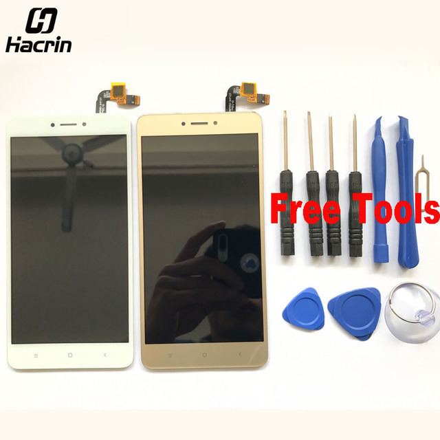 hacrin For Xiaomi Redmi Note 4X LCD Display+Touch Screen Digitizer Glass Panel For Xiaomi Redmi Note 4 Global Version