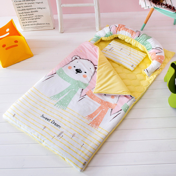 Sleeping bags Envelope Shape for Children Portable 140*75 CM Fall Spring Winter Keep Warm Ant Kicking Quilt Infant Sleepsack