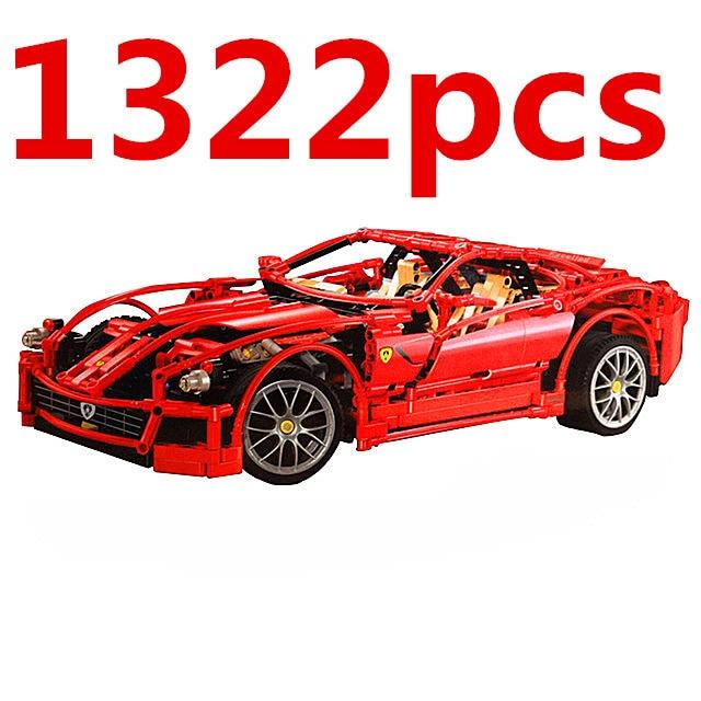Sports Car Model Blocks 3