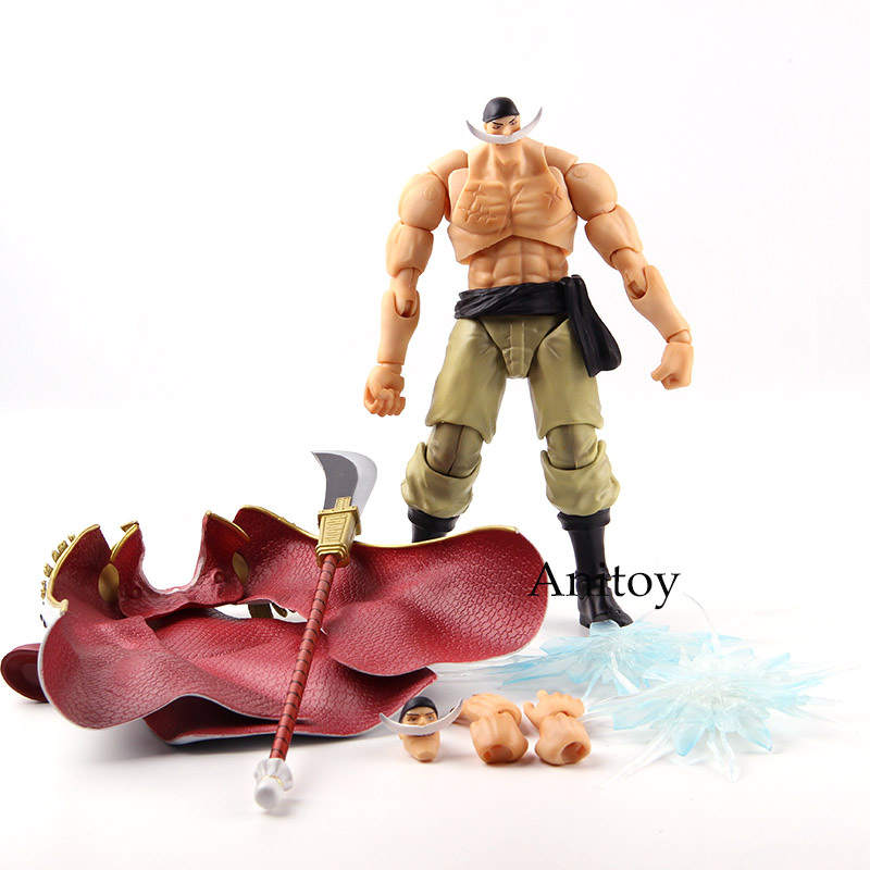 Megahouse VAH Variable Action Heroes One Piece White Beard Edward Newgate Figure