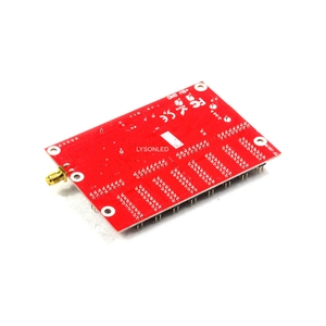 Image 2 - Fabrika fiyat LongGreat TF C6UW WIFI iletişim LED ekran kartı, 1024*128 piksel desteği P10 tek renkli kaydırma işareti