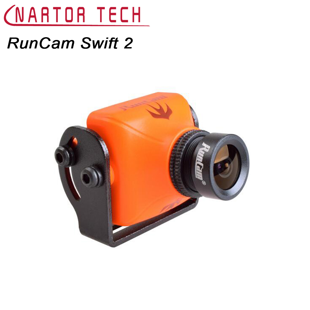 RunCam Swift 2 FPV Camera 600TVL FOV 130/150/165 Degree With OSD MIC for Racing Drone fx797t 5 8g 25mw 40 channel av transmitter with 600 tvl camera soft antenna for indoor fpv racing drone