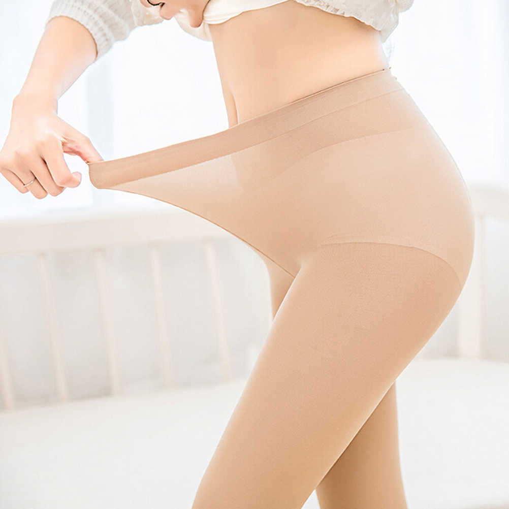a1ddfa7759e ... Ultra-Thin Fat Burning Health Care Large Size Slimming Silk Stockings  Wire Pantyhose Slimming Weight ...