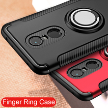 Finger Ring 360 Full Protect Case Xiaomi Redmi 5 Plus Note 4X 4 4A 3 Back Cover Silicone A2 Lite