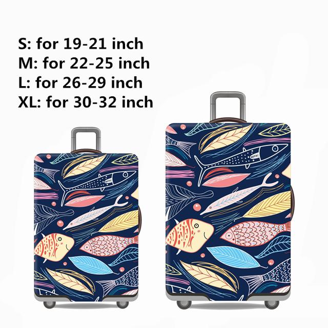 Travel Kid's Travel Luggage Cover Cartoon