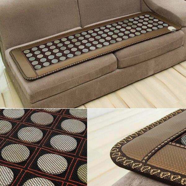 2016 hot ELECTRIC health mattress beauty cushion jade heated mattress 0.5x1.5M natural heated sofa cushion 50cmX150cm
