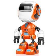 Радиоуправляемая игрушка робот для детей экшн фигурки из сплава