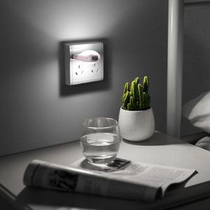 Image 5 - LED Night Light Mini Cute LED Socket Lamp Sensor Control 110V 220V EU Plug Energy Saving Lamp For Baby Kid Bedroom home Lighting