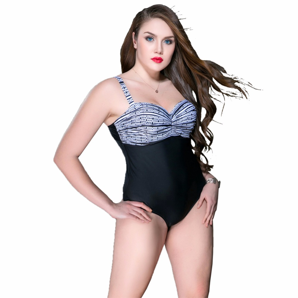 Women Bikini Big Size Swimsuit High Waist Push Up Bathing Suit Swimwear Plus Size Vintage Sexy Big Breasts Large Size Bikini hot sale women ladies sexy retro padded push up tassel high waist plus size bikini swimwear swimsuit bathing