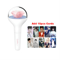 New SEVENTEEN 17 Light Stick LED Stick Concert Lamp Hiphop Lightstick Light Up Luminous Toys Kids Gift With 10 Pcs Cards