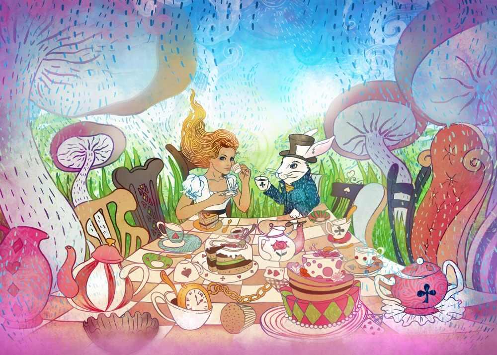 Ролевая сказка за столом цветы поздравляют