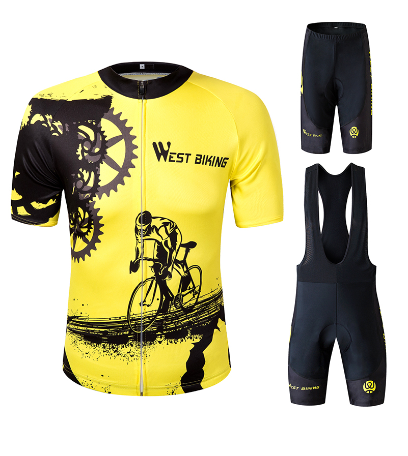 4969e1620 Details about Cycling Jersey Sets Men Bicycle Short Sleeve Clothing Outdoor  Summer Sports Wear