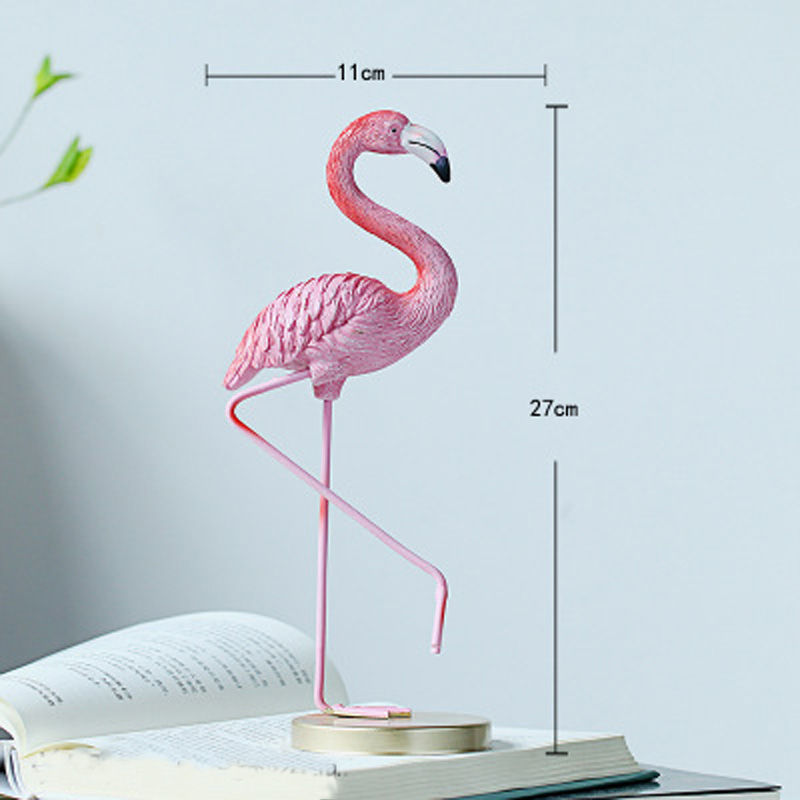 Vacclo 1pc ins Creative House Decoration Flamingo Ornament for The Wedding Gift Birthday Party Weeding Decoration Party Supplies 10