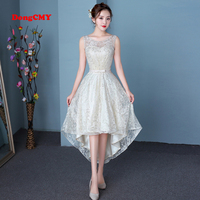 DongCMY CGL004 New Arrival 2018 A Line Red Color Elegant Party Communion Dresses