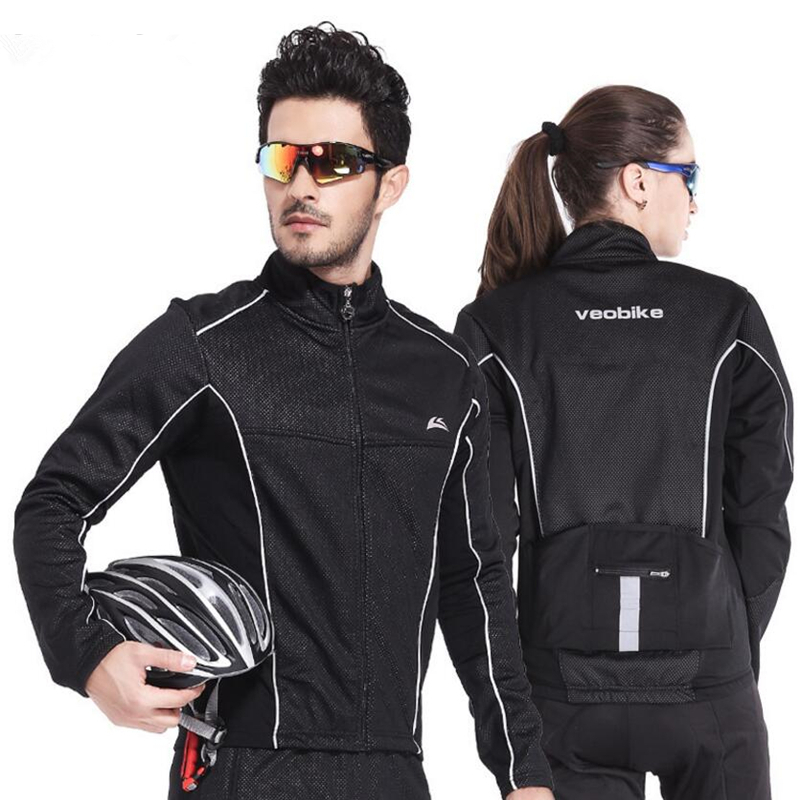 Осень Велоспорт Куртки Ветрозащитный Велоспорт Ткань Джерси С Длинным Рукавом Пальто Ватки Дышащий Мужчины Женщины Горный Велосипед Куртка