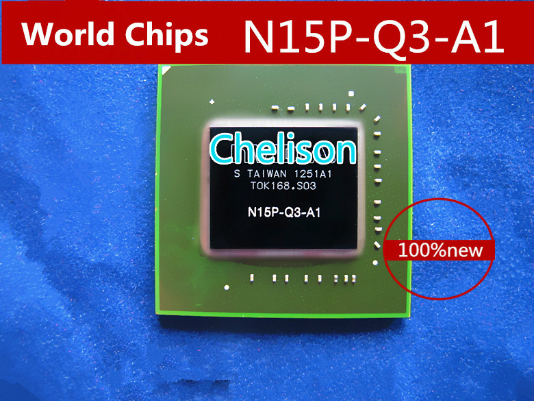 N15P-Q3-A1 N15P Q3 A1 100% NEW Original BGA Chipset With Balls IC chips freeshipping 100% new intel 82801hbm ic chipset with bga stencil 90mm nh82801hbm