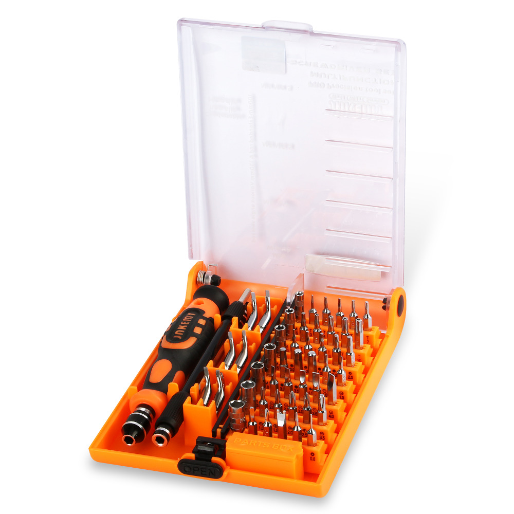 JAKEMY 52 in 1 Professional Screwdriver Set Multi-tool Kit for Repair for Watch Phone PC Electronic Maintenance parafusadeira