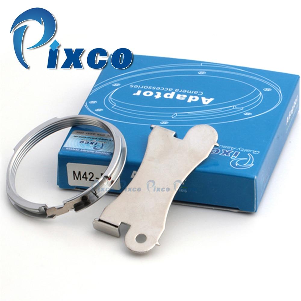 Pixco Lente Adaptador Traje para M42 Tornillo De Montaje Lente Para Pentax K-S2 K-S1 K-3 K-50 II