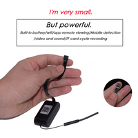 Mini camera micro wifi camera p2p APP Remote View Wireless security camera Motion detection With hotspot Microphone