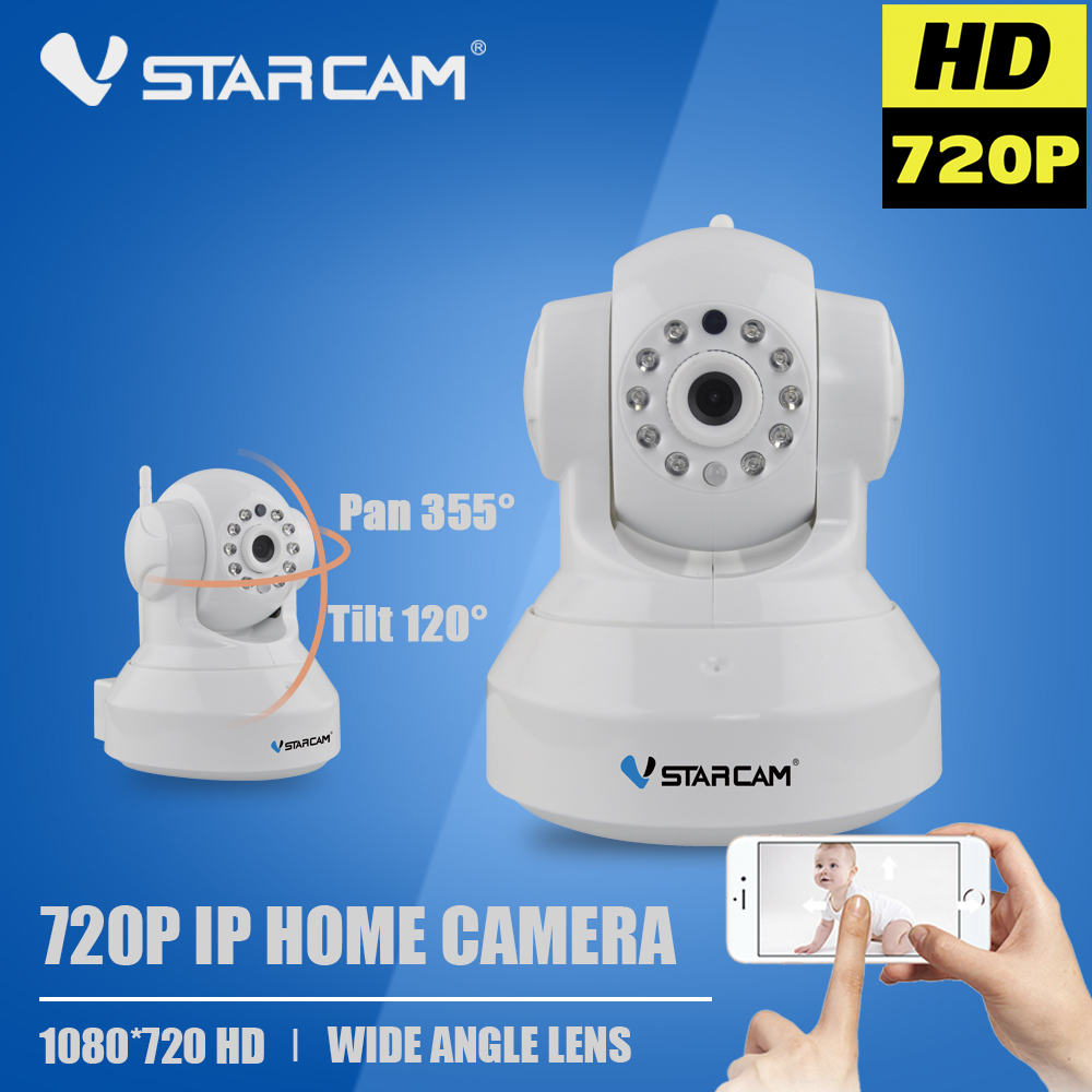 Vstarcam C7837WIP WIFI Camera Wireless IP Wi-Fi CCTV Camera Security Surveillance Camara Onvif P2P Micro SD Motion Detection Cam 2015 vstarcam t6835 micro tf sd card security ip camera wireless wifi p2p plug