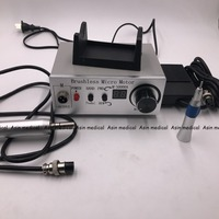 50 000 RPM Non Carbon Brushless Aluminium Shell Dental Micromotor Polishing Unit With Lab Handpiece Dental