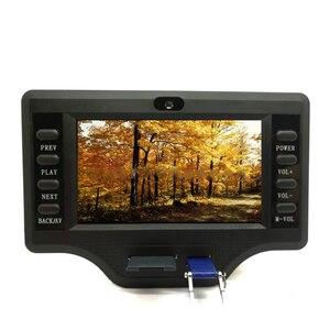 Image 3 - Tenghong LCD Da 4.3 Pollici MP3 Scheda di Decodifica DC12V 50W * 2 + 100W Amplificatore Bluetooth Bordo MP5 Audio ricevitore Decodering Modulo WMA/OGG