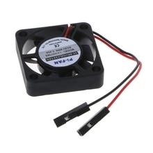 Мини вентилятор охлаждения Радиатор для Raspberry Pi 3/2/B+ 3,3 В/5 В модель компьютера Прямая поставка No28