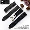 Ремешок для часов из углеродного волокна  силиконовый водонепроницаемый ремешок для часов 19/20/21/22 мм  резиновый браслет для Omega-Watch Tools