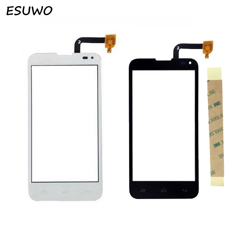 ESUWO New Touchscreen Panel For Fly IQ4415 Era Style 3 Touch Screen Digitizer Replacement Black White Color