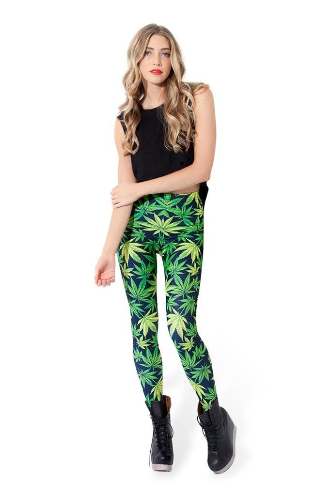vrouwen digitale 3D-geprinte broek Woah Dude 2.0 HWMF Legging merk - Dameskleding - Foto 2