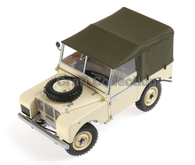 Cream Yellow Car Model for 1/18 Rover Series- I LTD 1948 Minichamps Classic Collection Diecast Model Car DIY Model Customs Made