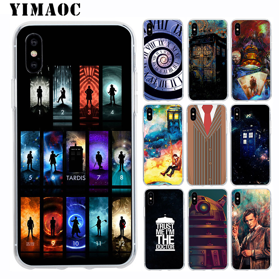 Trustful Yimaoc Doctor Who Box Soft Tpu Silicone Case For Apple Iphone Xr Xs Max X 10 8 Plus 7 6s 6 Plus Se 5s 5 7plus 8plus Cover Volume Large Cellphones & Telecommunications