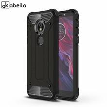 AKABEILA Phone Covers Cases For Motorola Moto E5 Plus Play Case PC TPU Cover