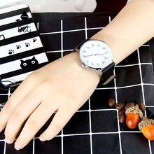 Nueva moda árabe números creativos relojes de las mujeres negro BGG marca ultra thin simple reloj de pulsera de cuarzo envío de la gota