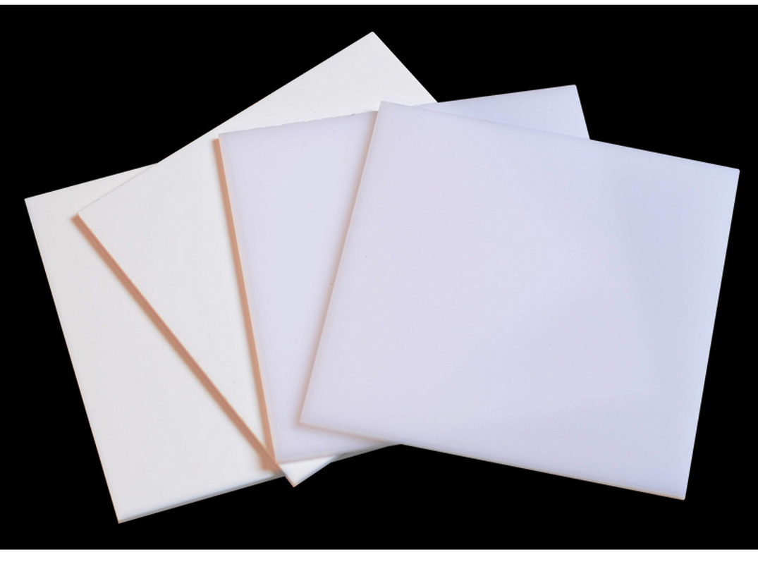 Pure White Acrylic Board Light Ivory Plexiglass Plastic Sheet Photopermeability Organic Glass Polymethyl Methacrylate 200*200mm