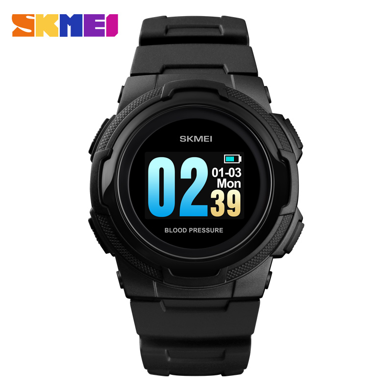 SKMEI 1438 Teenager Smart Color Display Wristwatches Bluetooth Heart Rate Blood Oxygen Pressure Beauty Incoming Call