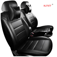 HLFNTF Custom leather Car Seat Covers For Buick Hideo Regal Lacrosse Ang Cora Envision GL8 car accessories
