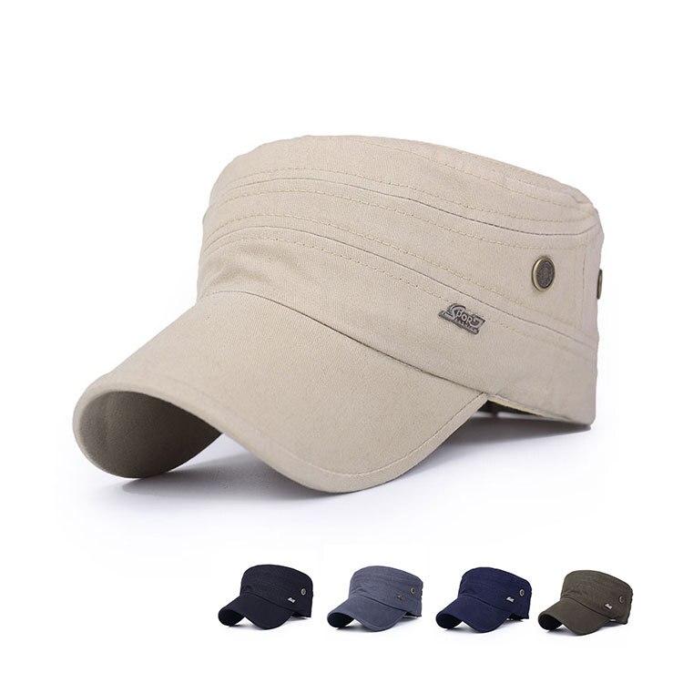 Classic Women Men sports Standard breathable Chapeu Snapback Casquette Service Army Military Patrol flat hats Golf Caps