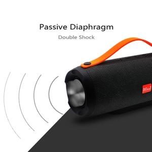 Image 5 - M & J E13 ลำโพง Bluetooth ลำโพงไร้สายสเตอริโอแบบพกพาเสียงเบส 10 W ระบบ MP3 เสียงเพลง AUX สำหรับ Android iphone Pc