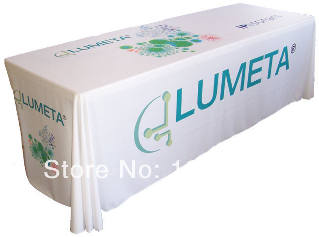 193 & US $146.0 |8ft Tradeshow Table Throw Open Back Table Cover Printed Full Color Tablecloth-in Tablecloths from Home \u0026 Garden on Aliexpress.com | Alibaba ...