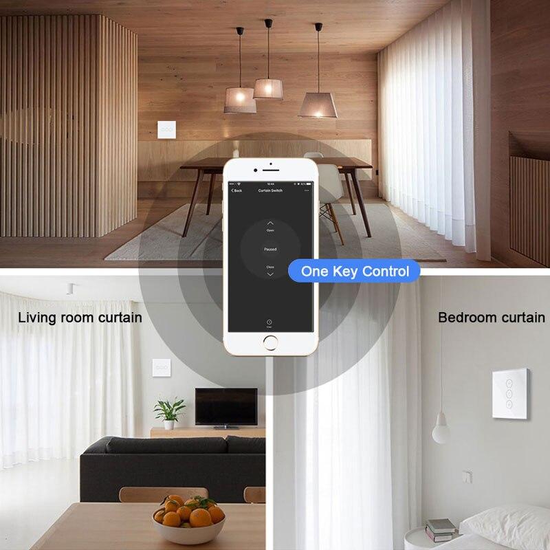 tuya vida inteligente wifi interruptor de cortina 04