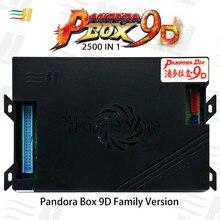 Pandora Box 9d 2500 В 1 семейная версия материнская плата может 3P 4P игра для видеоигр аркадная консоль машина 3d tekken mortal kombat