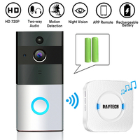 DAYTECH Wireless WiFi Video Doorbell HD Camera Two Way Audio Motion Detection IR Night Vision Waterproof