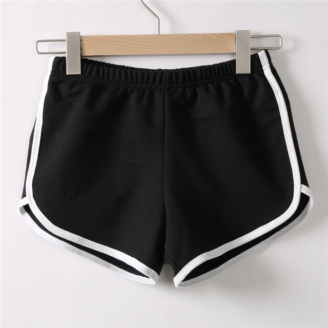 2020 Women Summer Shorts Casual Shorts Workout Slim Famme Loose Cotton Elastic Waist Short Waistband Skinny Short