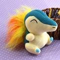 Nintendo Peluche Pokemon Cyndaquil Плюшевые Мягкие Игрушки Куклы Подарок Чучело Игры Собирать YHJ15090106